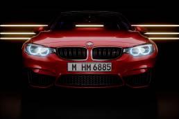 Automotive interior 3D renders