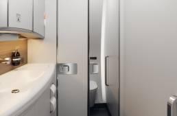 Aircraft 3D renders lavatory